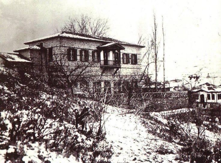 Ankara Çankaya köşkü.