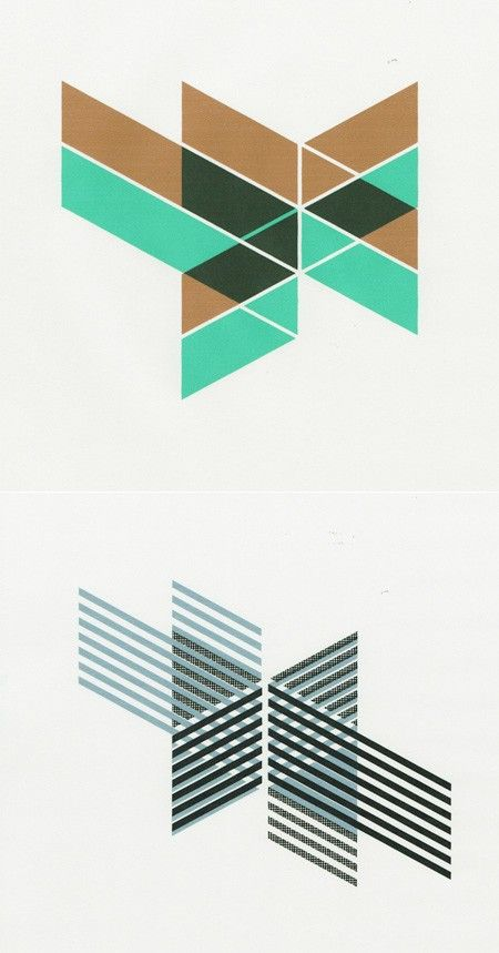 Nice work by designer Jelle Martens. I really love this set of geometric shapes mixed in with some great colors.