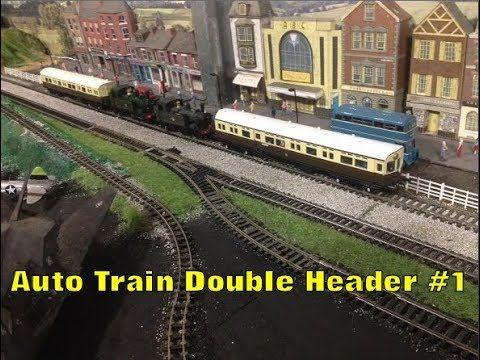 Model Railways - Double Headed Auto Train with BR 1400s #1