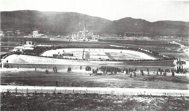 1896 - Ποδηλατοδρόμιο Νέου Φαλήρου - (1896-1964). Στάδιο Γεώργιος Καραισκάκης.