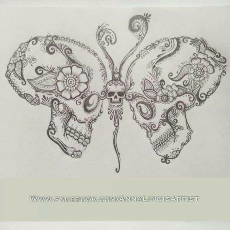 Skull Butterfly                                                                                                                                                                                 More