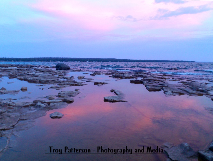 After sunset glow - Inverhuron Provincial Park, Kincardine, Ontario, Canada - Troy Patterson - Photography and Media