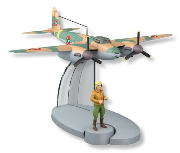 Mosquitos DH 98 (Tintin - Coke en Stock) {Plane # 10]