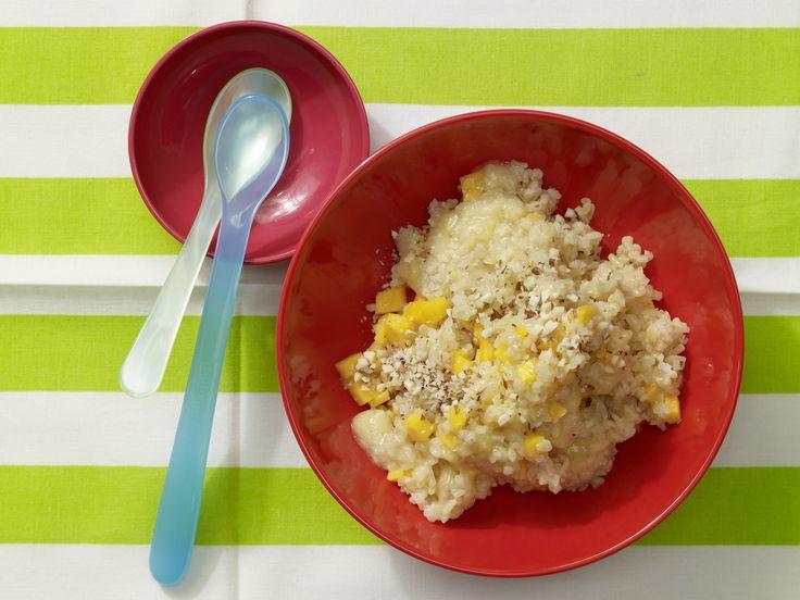Bananen-Mandel-Brei mit Bulgur - Nachmittagsbrei ab 7. Monat (milchfrei) -