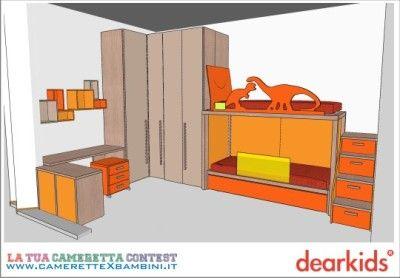 Dearkids camerette: il progetto