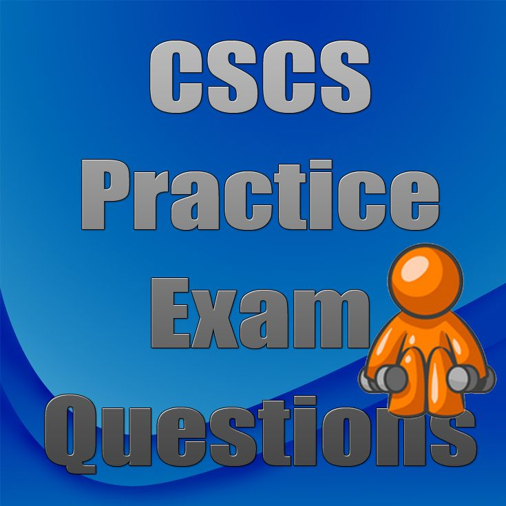 If you're studying to become a Certified Strength and Conditioning Specialist, be sure to check out our free CSCS Practice Exam Questions to help you better prepare for the CSCS exam. #cscs #health