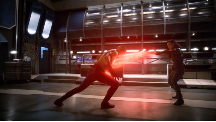 """Dead or Alive"" is the eleventh episode of the third season of The Flash, and the fifty-seventh episode overall. It aired on January 31, 2017. H.R.'s past catches up with him when a bounty hunter with vibe powers named Gypsy arrives in Central City to bring him back to Earth-19 to stand trial for his crime. It turns out inter-dimensional travel is illegal on their Earth. H.R. surrenders but when Barry and Cisco find out that H.R.'s only hope would be to challenge Gypsy to a fig..."