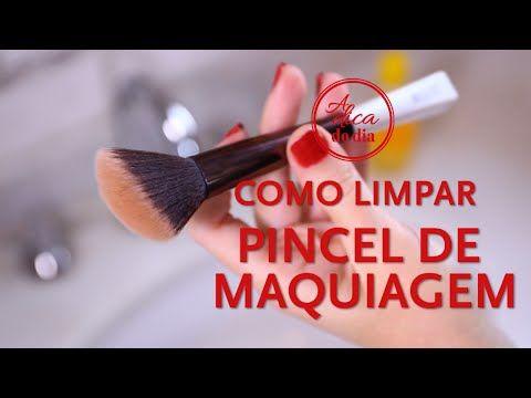 COMO FAZER LIMPADOR DE PINCEL DIY| A DICA DO DIA COM FLÁVIA FERRARI - YouTube
