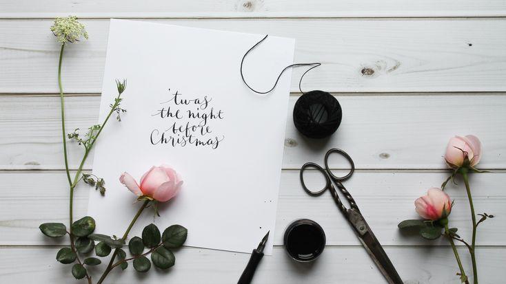 festive mini banners | humphrey and grace