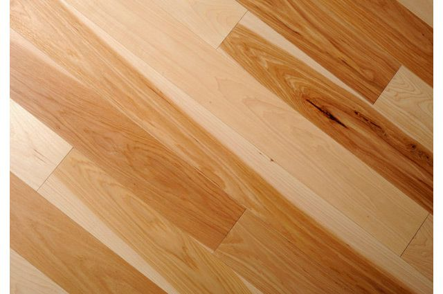 Hickory Hardwood Flooring From Logs End Solid And Engineered