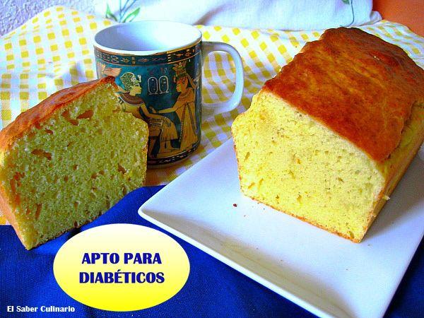 Bizcocho sin azúcar de limón, naranja y yogur griego. Bizcocho apto para diabéticos