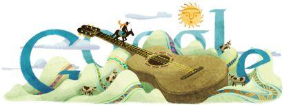 Atahualpa Yupanqui's 104th Birthday http://www.google.com/doodles/atahualpa-yupanquis-104th-birthday