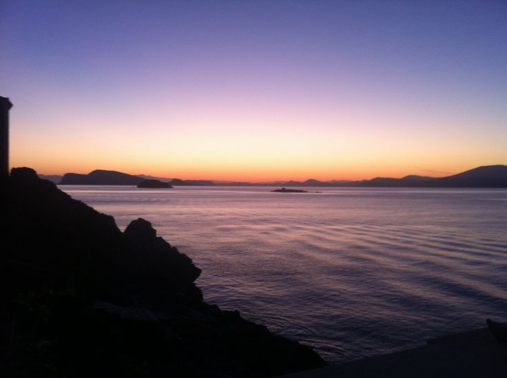 Greek Island Trip - Dokos Island Sunset