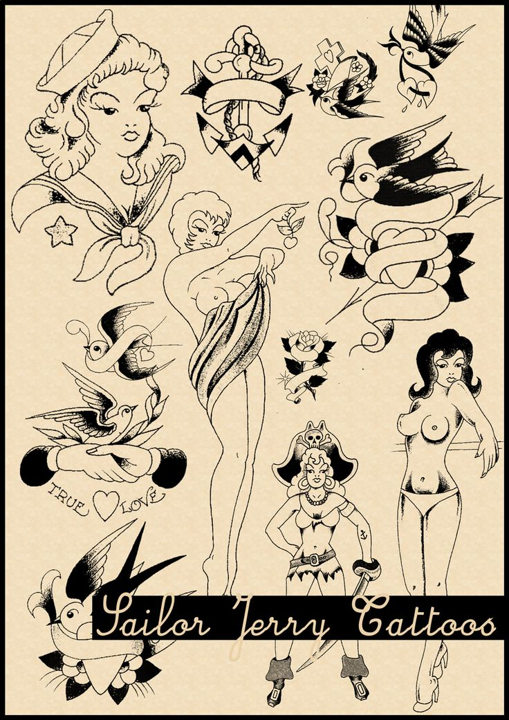 Sailor Jerry Tattoo Brushes