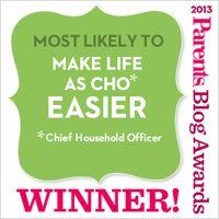 Parents Magazine Blog Awards Winner