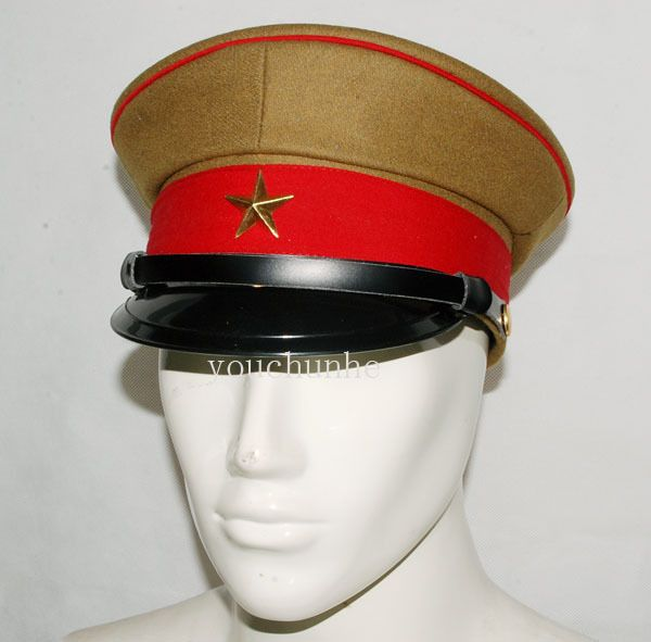 Wwii Imperial Japanese Army Officer S Wool Visor Crusher Cap Cap Hat L 32254 Fashion Collectibles Militaria Wwii193945 Eba Army Hat Caps Hats Army Officer