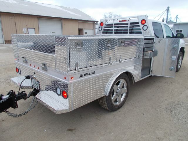 Custom All Aluminum Trailers Truck Bodies Boxes For Sale Alum Line Custom Truck Beds Aluminum Truck Beds Trucks