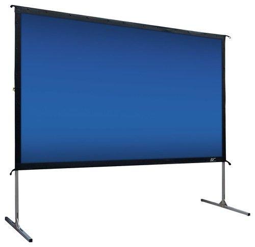 "Elite Screens - YardMaster2 100"" Outdoor Projector Screen - Silver - Larger Front"