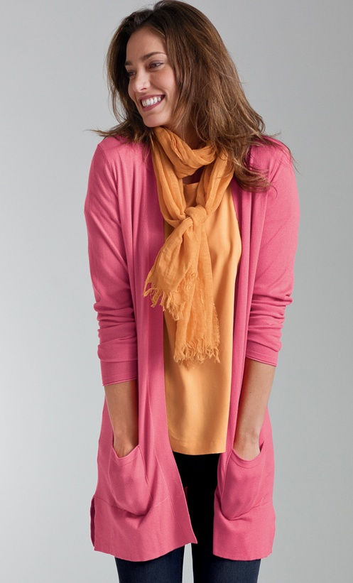 Brights for spring - colorful scarves