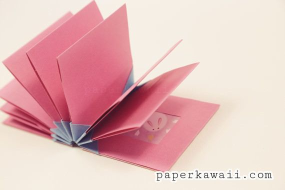 Origami Blizzard Book Tutorial Video   Paper Kawaii   video   Origami Technique--Accordian Folding