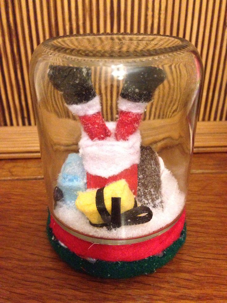 Pai Natal na chaminé!