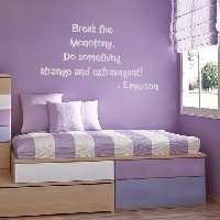 inspire inspiration: Small Bedrooms, Cute Quotes, Wall Decals, Purple Rooms, Wall Quotes, Vinyls Fees, A Quotes, Girls Rooms, Kids Rooms