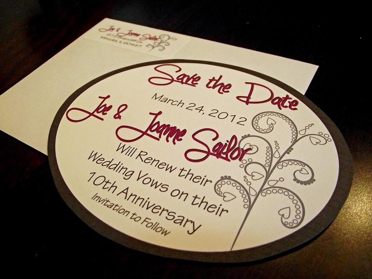 10th Wedding Anniversary Invitations: 31 Best Golden Anniversary Images On Pinterest