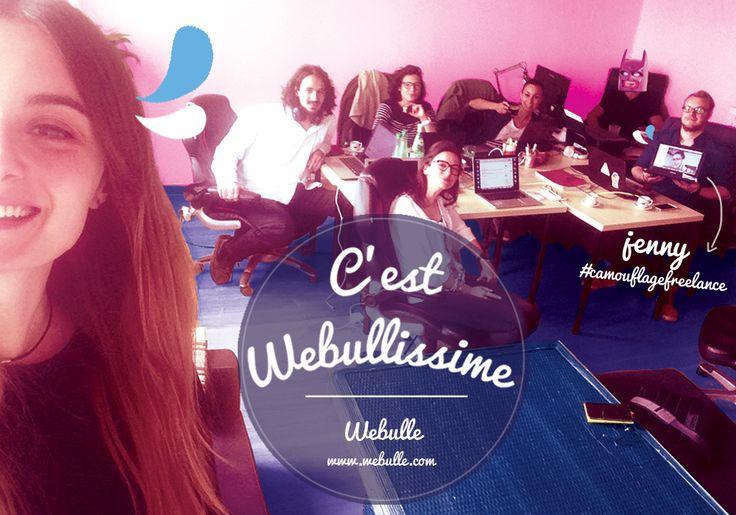 Team Webulle (qui n'est pas au complet !).