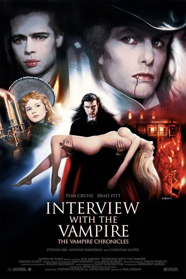 Interview With The Vampire 1994 640 X 960 Interview With The Vampire Vampire Movies The Vampire Chronicles