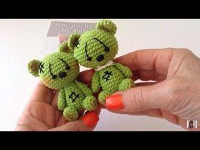 Oso en crochet para muñeca María amigurumis by Petus (English subtitles) – You…