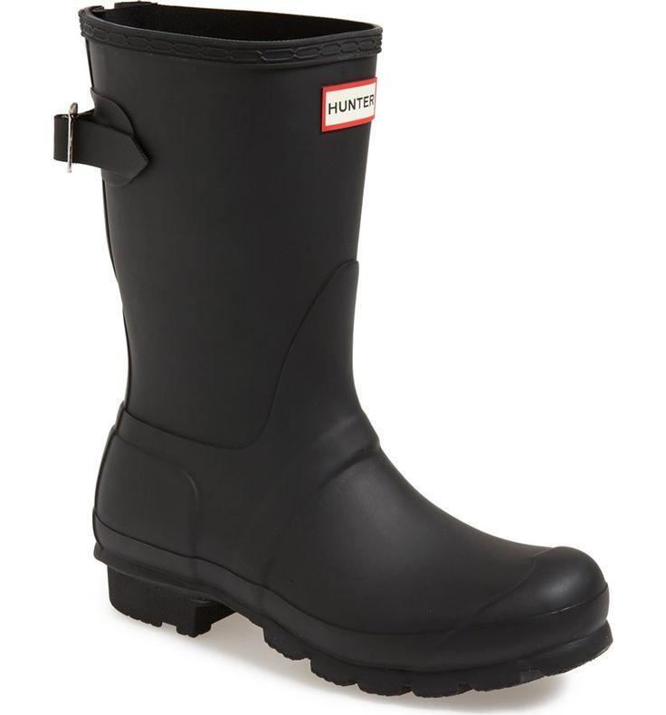 Hunter Original Short Back Adjustable Rain Boot $150
