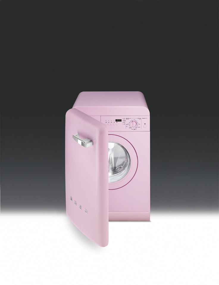17 best images about smeg washing machines on pinterest - Pink smeg washing machine ...