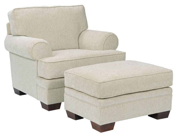 Landon Transitional Chair and Ottoman Set by Broyhill Furniture