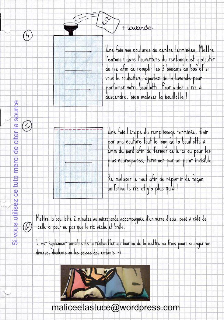 tuto bouillotte page 2 bis