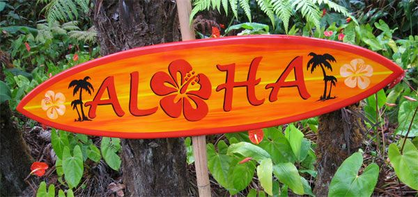 How many ways are there to show your Aloha? We're not sure, but we never tire of finding out!