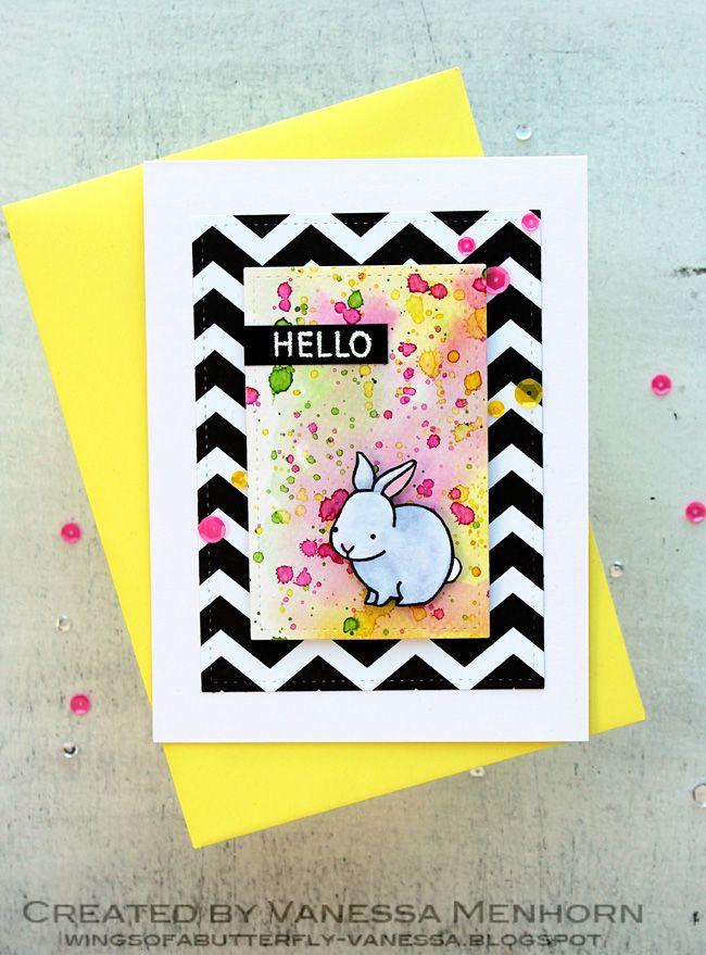 cute bunny cardhttp://wingsofabutterfly-vanessa.blogspot.de/2015/04/sparkle-shine-challenge-three.html