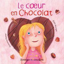 Le coeur en chocolat - La maman d'Olivia est pâtissière et confiseuse. Chaque samedi, Olivia et son petit frère aident leur maman à la boutique. Ce samedi-là, Olivia aimerait beaucoup que sa maman confectionne un cœur en chocolat tout spécialement pour elle.
