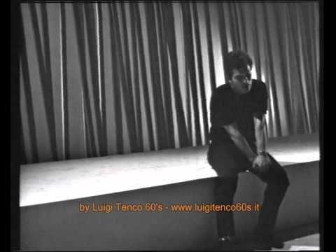 """Raro - Luigi Tenco: Tu non hai capito niente HD ( da """"Le nostre serate"""" ) 1965"""
