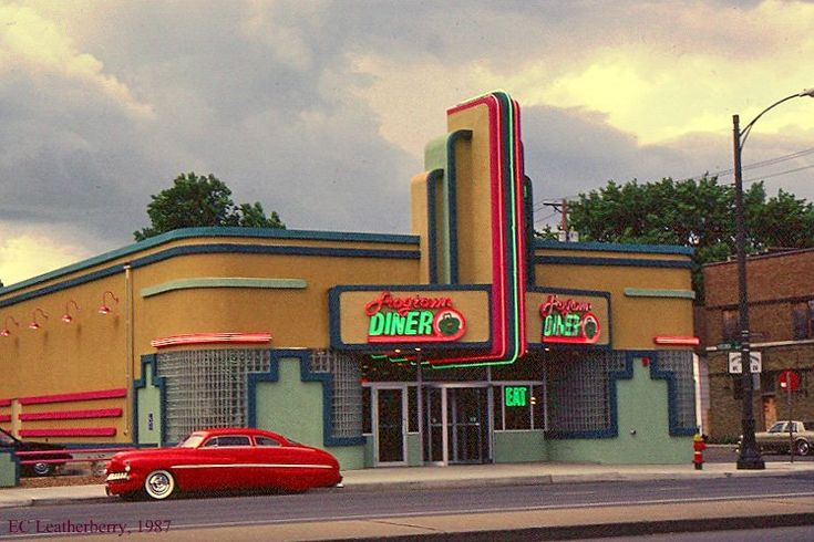 Art Deco Architecture: Frogtown Diner, St. Paul, Minnesota...
