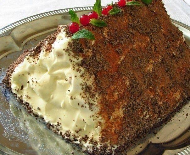"""Лучшие кулинарные рецепты: Торт """"Монастырская изба"""""""