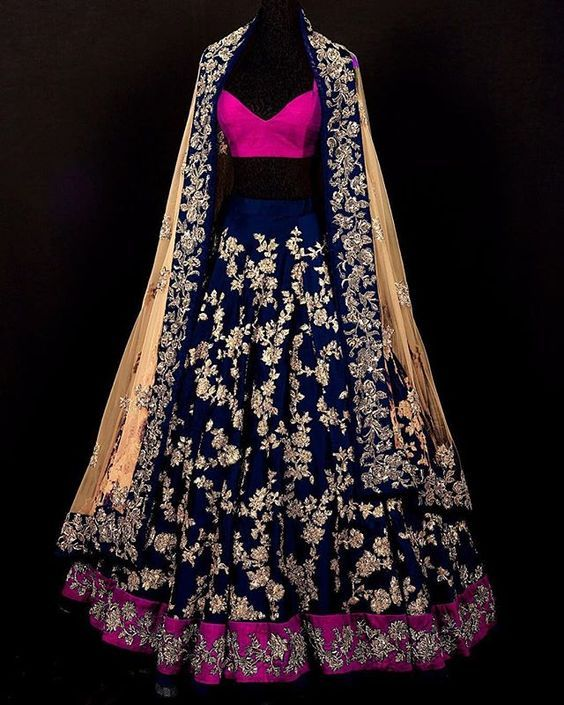 #PartyWearLehengaOnline #StylishLehengaSale #LatestLehengaOnline #BollywoodLehengaOnline Maharani Designer Boutique  To buy it click on this linkHand work. Price Rs.31000 Fabric-Duppon silk Available in all colhttp://maharanidesigner.com/Anarkali-Dress…/western-dresses/...ors. For any more information contact on WhatsApp or call 8699101094 Website www.maharanidesigner.com Maharani Designer Boutique's photo. Maharani Designer Boutique's photo.