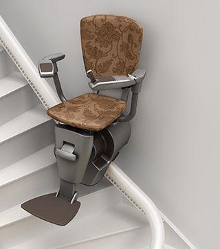 Utilisez notre configurateur en ligne, pour personnaliser à l'infini votre monte-escalier ThyssenKrupp Encasa !