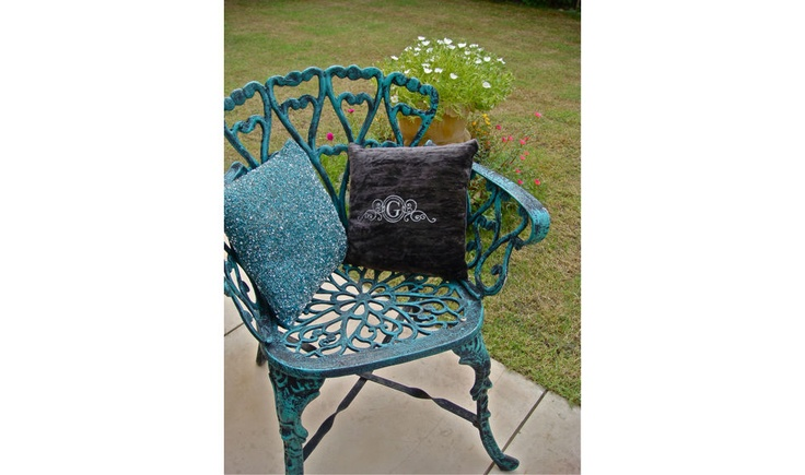 Get into the Ultra-Snob Feel....  Pictured Here are Ultra-Snob Cushion-Victorian-Pewter and Eridanus, Teal.