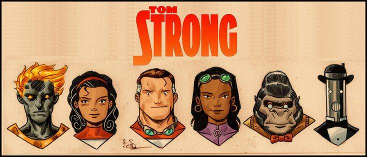 tom strongComics Art, Book Art, Comics Character, Book Worth, Comics Book, Awesome Comics