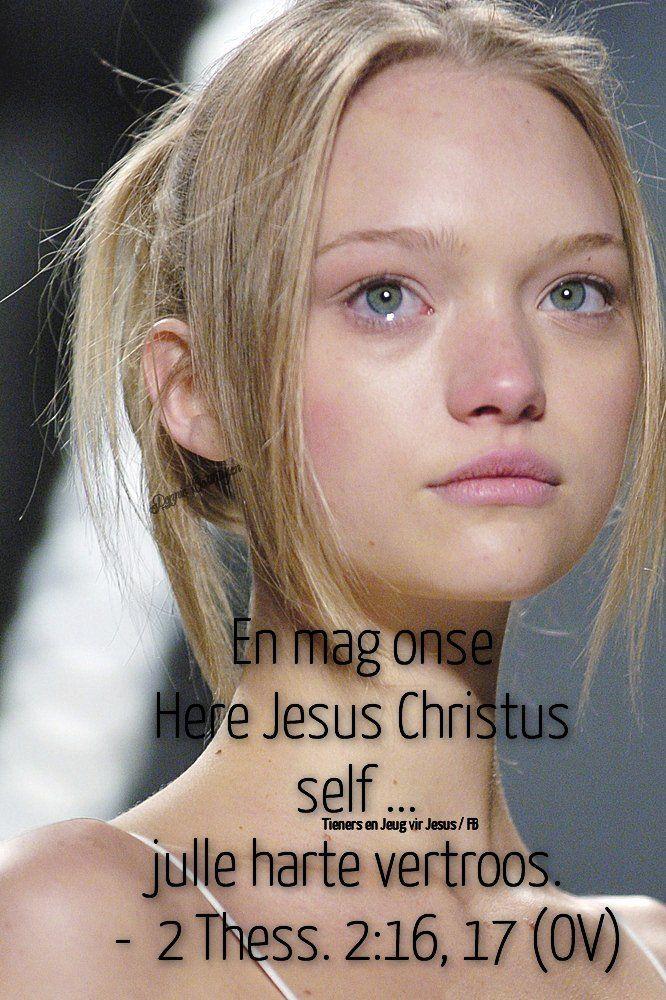 Christelike Boodskappies: Troos