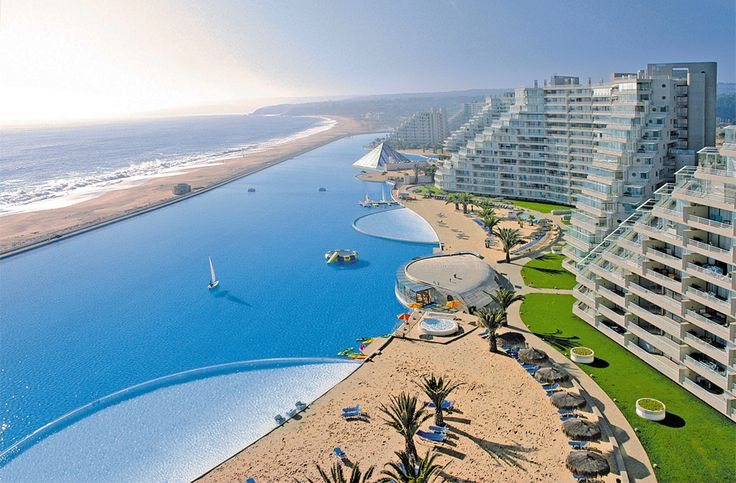 World`S Largest Swimming Pool, San Alfonso Del Mar, Chile By Alfonso Del Mar Resort