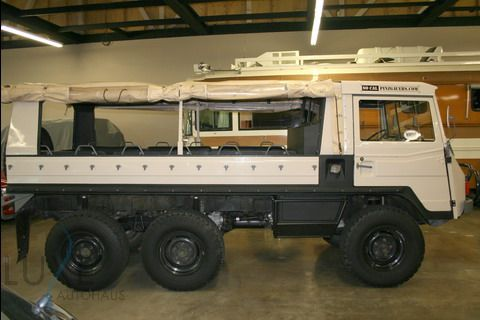 Steyr Daimler Puch Pinzgauer 712M 6x6 for sale @ LUXE Autohaus :: Luxury Auto Sales :: 888.688.LUXE [5893] :: Portland, OR USA