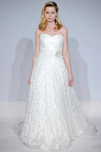 Lace Wedding Dresses | Martha Stewart Weddings