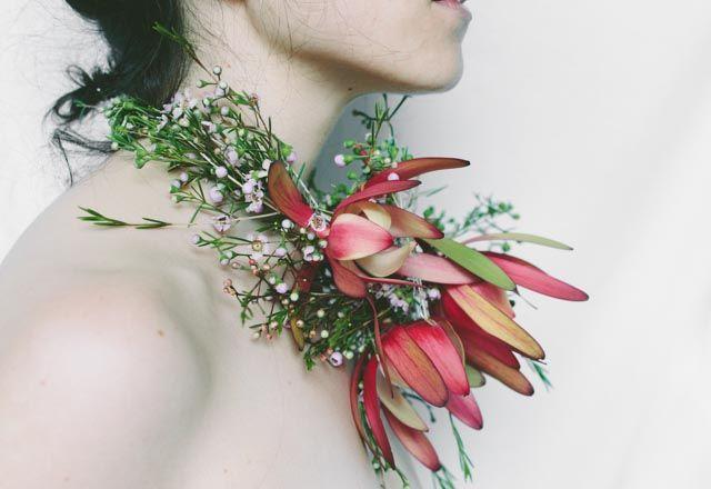 Flower neclace  Fine Art Floral Photorgaphy