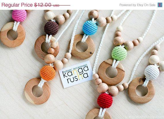 MOTHERS DAY SALE Pure juniper Nursing necklace / di kangarusha